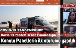 Kovit-19 Pandemisi'nde Paramediğin Rolü Konulu...