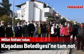 Millet İttifakı'ndan Kuşadası Belediyesi'ne...