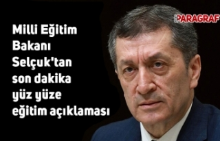 Milli Eğitim Bakanı Selçuk'tan son dakika...