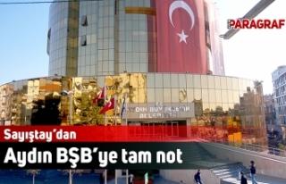 Sayıştay'dan Aydın Büyükşehir Belediyesi'ne...