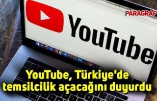 YouTube, Türkiye'de temsilcilik açacağını...