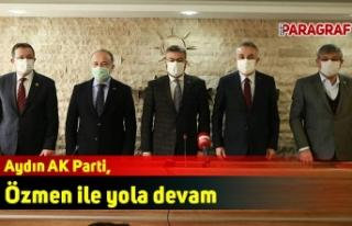 Aydın AK Parti, Ömer Özmen ile yola devam