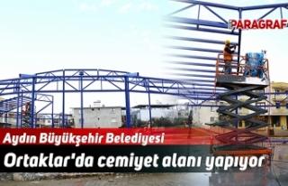 Aydın Büyükşehir Belediyesi Ortaklar'da cemiyet...