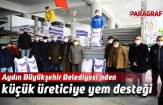 Aydın Büyükşehir Belediyesi'nden küçük üreticiye...