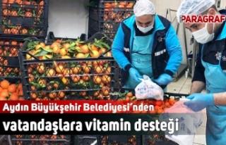 Aydın Büyükşehir Belediyesi'nden vatandaşlara...