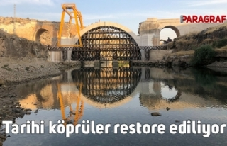 Bakan Karaismailoğlu açıkladı: Tarihi köprüler...