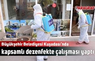 Büyükşehir Belediyesi Kuşadası'nda kapsamlı...
