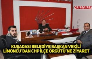 KUŞADASI BELEDİYE BAŞKAN VEKİLİ LİMONCU'DAN...