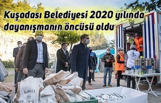 Kuşadası Belediyesi 2020 yılında dayanışmanın...