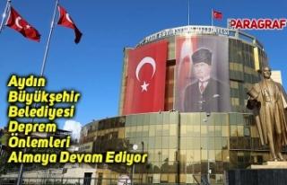 Aydın Büyükşehir Belediyesi Deprem Önlemleri...