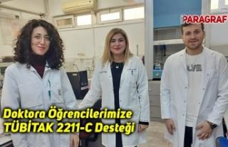 Doktora Öğrencilerimize TÜBİTAK 2211-C Desteği