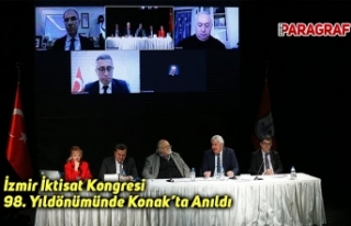 İzmir İktisat Kongresi 98. Yıldönümünde Konak'ta...