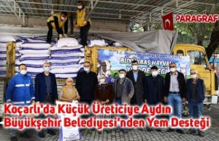 Koçarlı'da Küçük Üreticiye Aydın Büyükşehir...