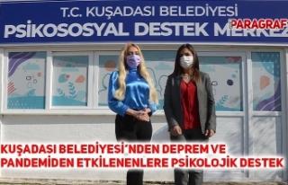 KUŞADASI BELEDİYESİ'NDEN DEPREM VE PANDEMİDEN...