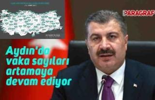 Aydın'da vaka sayıları artamaya devam ediyor