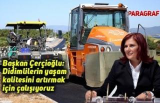 Başkan Çerçioğlu: Didimlilerin yaşam kalitesini...