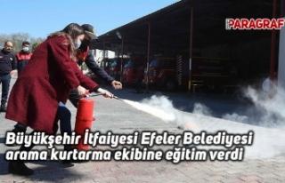Büyükşehir İtfaiyesi Efeler Belediyesi arama kurtarma...