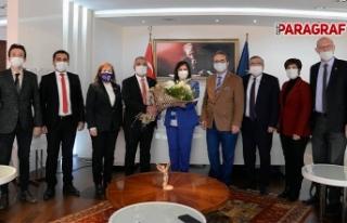 CHP'den Başkan Çerçioğlu'na Ziyaret