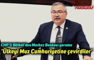 CHP'li Bülbül'den Merkez Bankası yorumu: Ülkeyi...