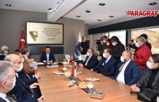 CHP'li Vekillerden Başkan Günel'e teşekkür...