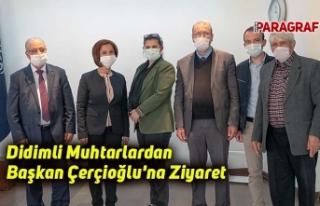 Didimli Muhtarlardan Başkan Çerçioğlu'na...
