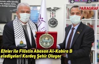 Efeler ile Filistin Abasan Al-Kabira Belediyeleri...