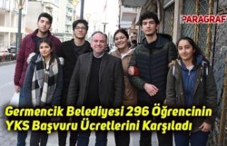 Germencik Belediyesi 296 Öğrencinin YKS Başvuru...