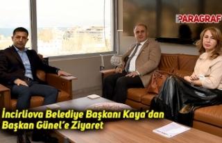 İncirliova Belediye Başkanı Kaya'dan Başkan...