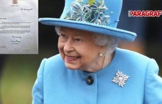 Kraliçe Elizabeth'ten Aydınlı öğrencinin...