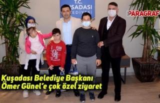 Kuşadası Belediye Başkanı Ömer Günel'e çok...