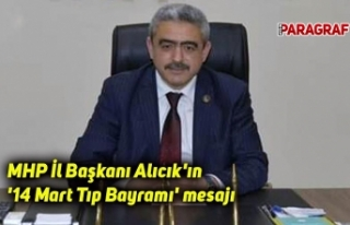 MHP Aydın İl Başkanı Alıcık'ın '14...