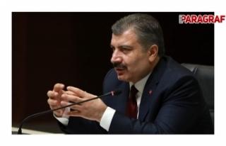 Sağlık Bakanı Koca çeşitli açıklamalarda bulundu