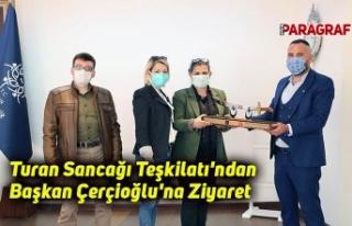 Turan Sancağı Teşkilatı'ndan Başkan Çerçioğlu'na...