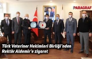 Türk Veteriner Hekimleri Birliği'nden Rektör...