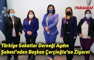Türkiye Sakatlar Derneği Aydın Şubesi'nden...