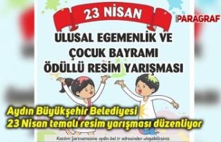Aydın Büyükşehir Belediyesi 23 Nisan temalı resim...