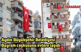 Aydın Büyükşehir Belediyesi Bayram coşkusunu...