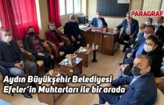 Aydın Büyükşehir Belediyesi Efeler'in Muhtarları...