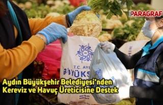 Aydın Büyükşehir Belediyesi'nden Kereviz...