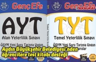 Aydın Büyükşehir Belediyesi'nden öğrencilere...