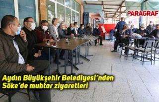 Aydın Büyükşehir Belediyesi'nden Söke'de...