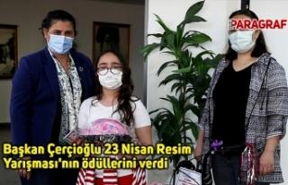 Başkan Çerçioğlu 23 Nisan Resim Yarışması'nın...