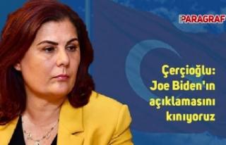 Çerçioğlu: Joe Biden'ın açıklamasını...