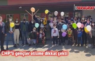 CHP'li gençler otizme dikkat çekti
