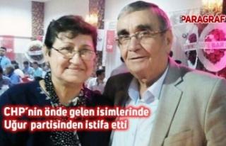 CHP'nin önde gelen isimlerinde Uğur partisinden...