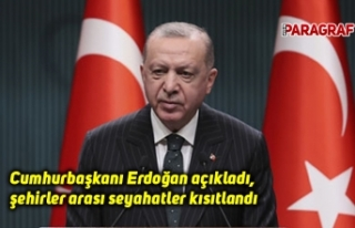 Cumhurbaşkanı Erdoğan açıkladı, şehirler arası...
