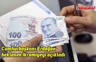 Cumhurbaşkanı Erdoğan beklenen ikramiyeyi açıkladı