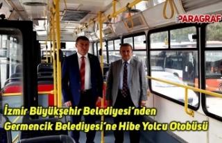 İzmir Büyükşehir Belediyesi'nden Germencik Belediyesi'ne...