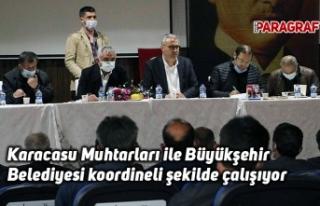 Karacasu Muhtarları ile Büyükşehir Belediyesi...
