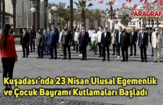 Kuşadası'nda 23 Nisan Ulusal Egemenlik ve Çocuk...